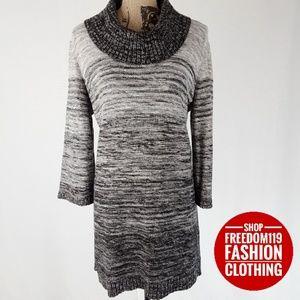 Style & Co | Cowl Neck Sweater Shift Dress (XL)